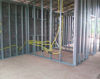 Bloken construção aço leve estrutura sistema LSF revestimento-2-lsf