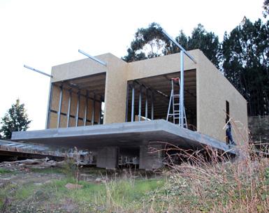 Bloken construção aço leve revestimento-5-lsf