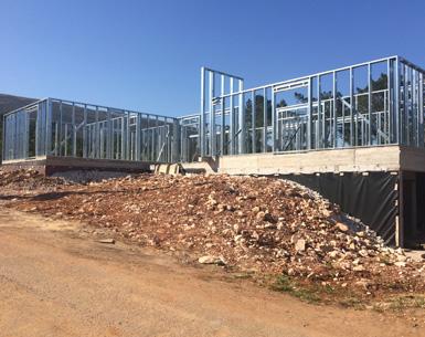 Bloken construção aço leve estrutura-6-lsf