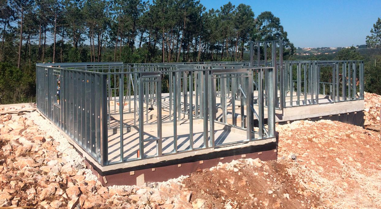 Bloken construção aço leve estrutura sistema LSF-6
