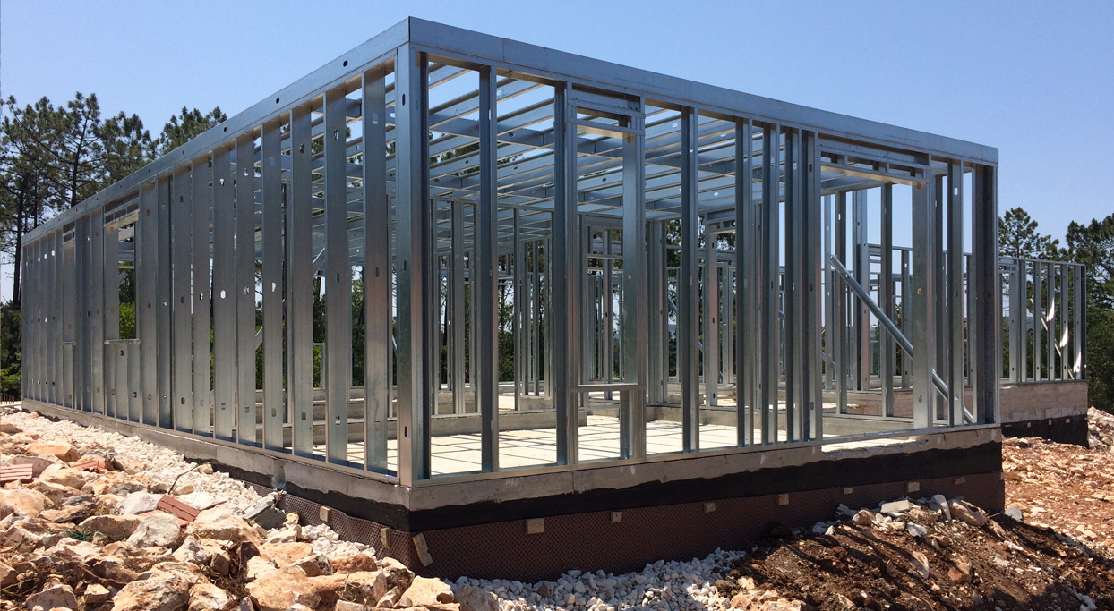 Bloken construção aço leve estrutura sistema LSF-7