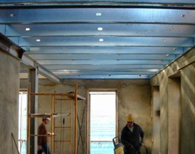 Bloken construção aço leve estrutura sistema LSF reabilitacao-1